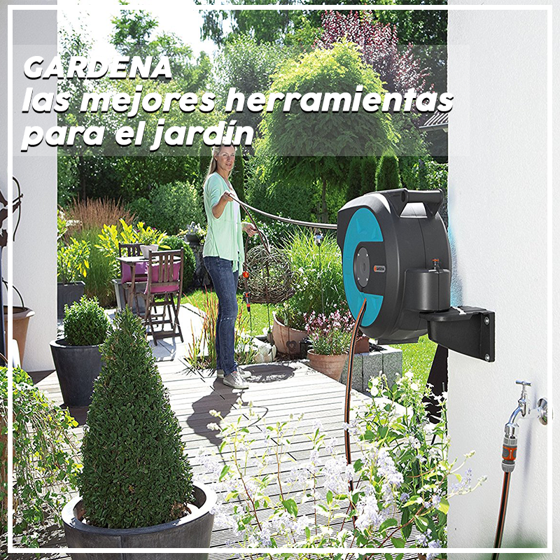 Gardena, las mejores herramientas para el jardín